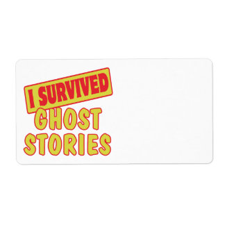 I SURVIVED GHOST STORIES SHIPPING LABEL