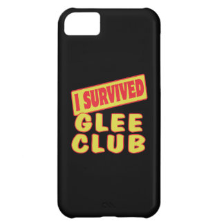 I SURVIVED GLEE CLUB iPhone 5C CASES