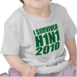 I SURVIVED H1N1 2010 in green Shirt