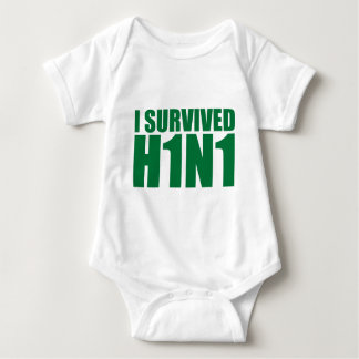 I SURVIVED H1N1 in green T Shirt