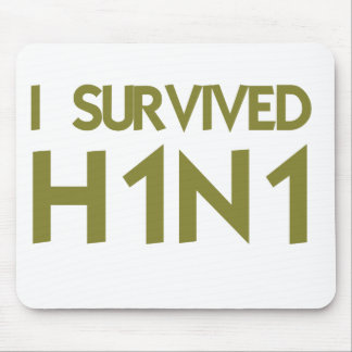 I Survived H1N1 Mouse Pad