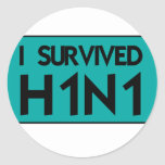 I Survived H1N1 Sticker