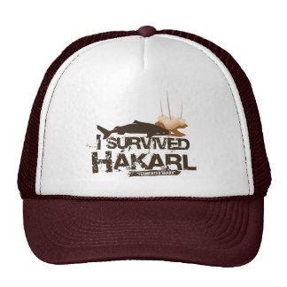 I Survived Hákarl Cap Trucker Hat
