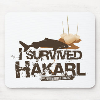 I survived Hákarl Mousepad