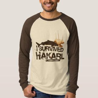 I survived Hákarl Shirt