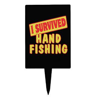 I SURVIVED HAND FISHING CAKE PICK