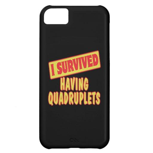 I SURVIVED HAVING QUADRUPLETS iPhone 5C CASE