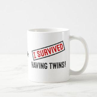 I Survived Having Twins! Mug