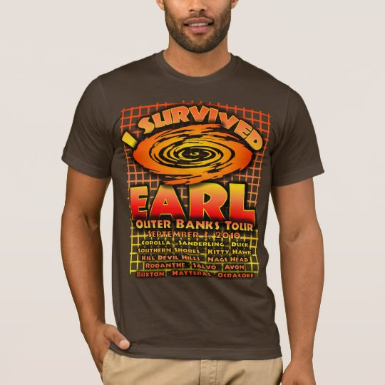 I Survived Hurricane Earl - Outer Banks Tour T-Shirt