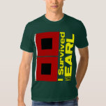 I Survived Hurricane Earl T Shirt