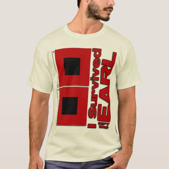 I Survived Hurricane Earl T-Shirt