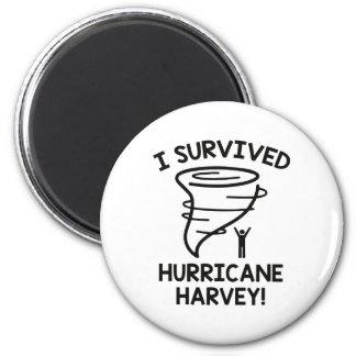I Survived Hurricane Harvey Magnet