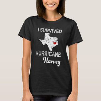 I survived Hurricane Harvey womens Texas Shirt