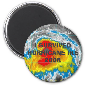 I SURVIVED HURRICANE IKE 2008 MAGNET