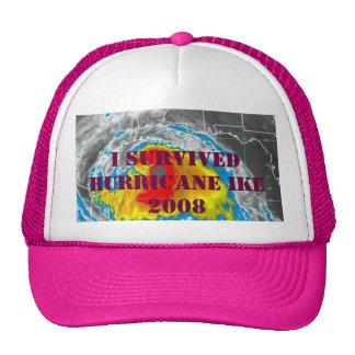 I SURVIVED HURRICANE IKE 2008 TRUCKER HAT