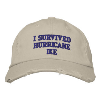I SURVIVED HURRICANE IKE CAP - Customized Embroidered Hat