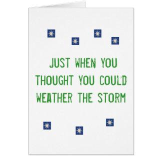 I Survived Hurricane Irene-2011 Card