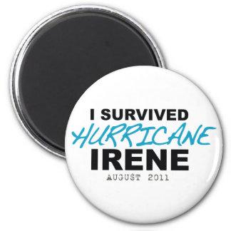I Survived Hurricane Irene 2011 Refrigerator Magnet