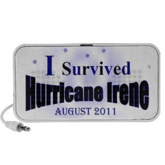 I Survived Hurricane Irene Doodle Speaker
