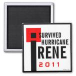 I Survived Hurricane Irene Magnet 2