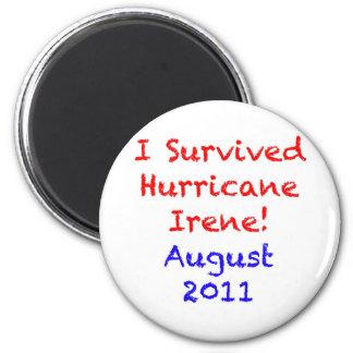 I Survived Hurricane Irene Magnets