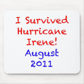 I Survived Hurricane Irene Mouse Pad