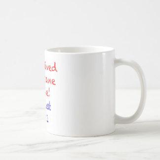 I Survived Hurricane Irene Coffee Mugs