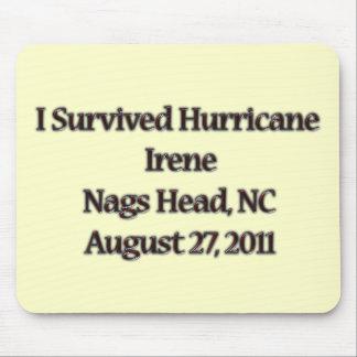 I Survived Hurricane Irene NC Mouse Pad