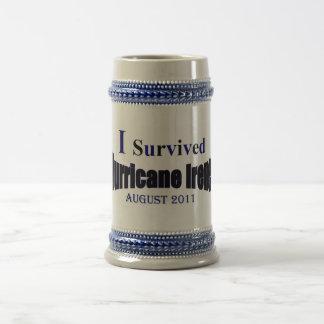 I Survived Hurricane Irene Stein Coffee Mugs
