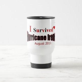 I Survived Hurricane Irene Travel Cup Mug
