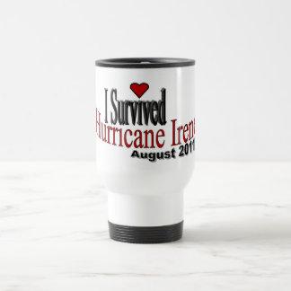 I Survived Hurricane Irene Travel Cup Mugs