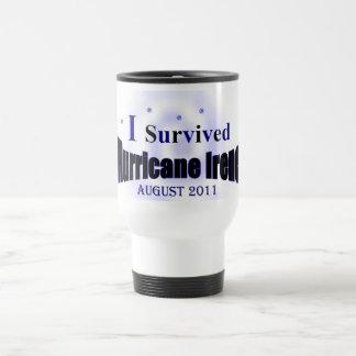 I Survived Hurricane Irene Travel Cup Coffee Mug