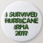 I Survived Hurricane Irma 2017 Button