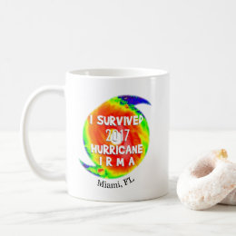 I SURVIVED HURRICANE IRMA at Your Location Coffee Mug