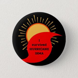 I Survived Hurricane Irma Button