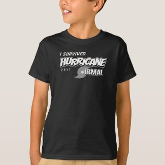 I Survived Hurricane Irma Kids T-Shirt