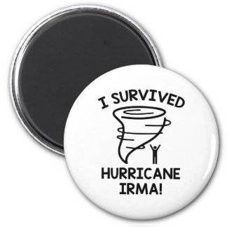 I Survived Hurricane Irma Magnet
