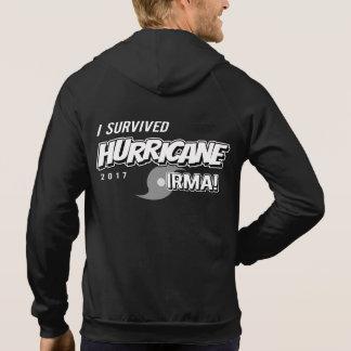 I Survived Hurricane Irma Mens Zip Hoodie