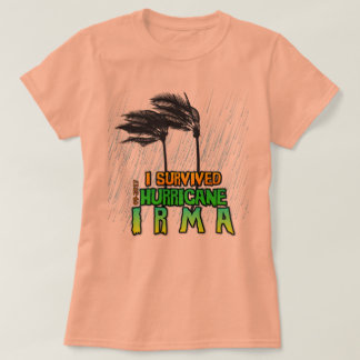 I survived Hurricane Irma rain T-Shirt