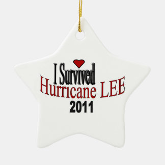 I Survived Hurricane Lee Ornament
