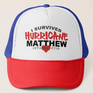 I Survived Hurricane Matthew October 2016 Trucker Hat