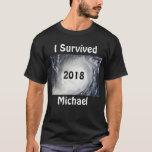 I Survived Hurricane Michael 2018 T-Shirt