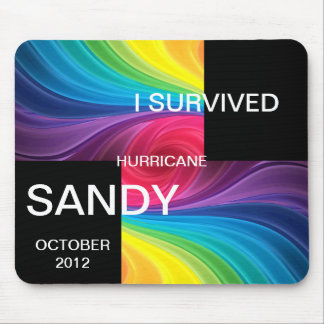I SURVIVED HURRICANE SANDY 2012 MOUSE PAD