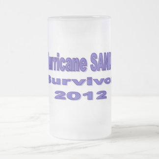 I Survived Hurricane Sandy Frosted Mug