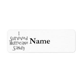 I survived Hurricane Sandy Gray.png Return Address Label