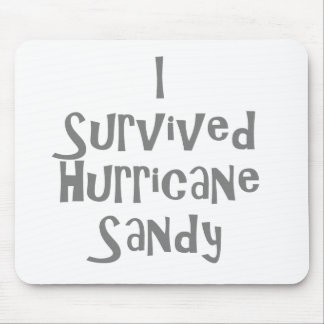 I survived Hurricane Sandy Gray.png Mouse Pad