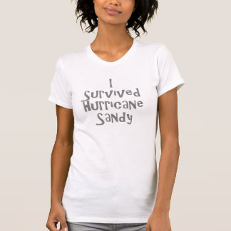 I survived Hurricane Sandy Gray.png T-Shirt