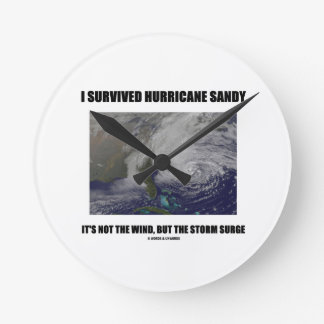 I Survived Hurricane Sandy It's Not The Wind But Round Clocks
