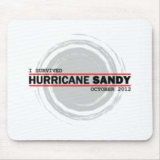 I Survived Hurricane Sandy Mousepads