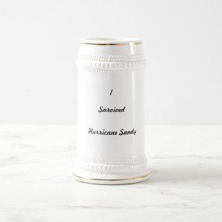 I survived Hurricane Sandy! 18 Oz Beer Stein